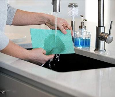 Swedish Wholesale Dishcloth Cellulose Sponge Cloths (10-Pack)