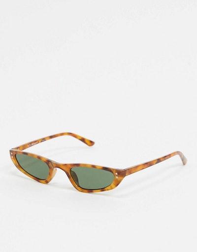 AJ Morgan Slim Square Sunglasses