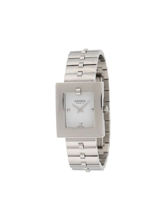 2000s Pre-Owned Rectangular Wristwatch