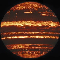 Highest resolution images of Jupiter reveal its fiery storms