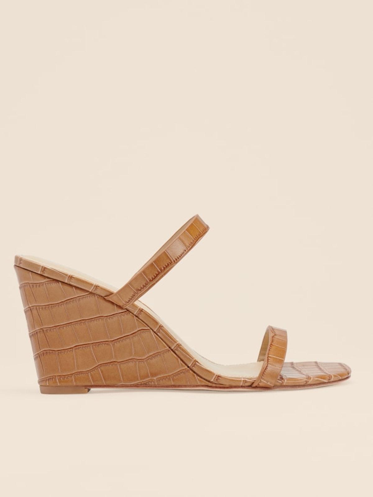 June Wedge Sandal