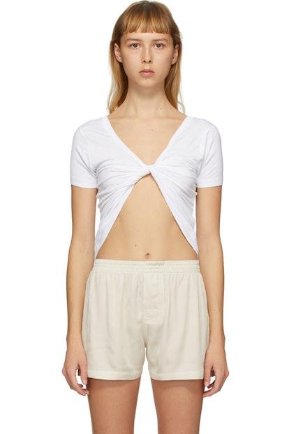 White Le T-Shirt Sprezza