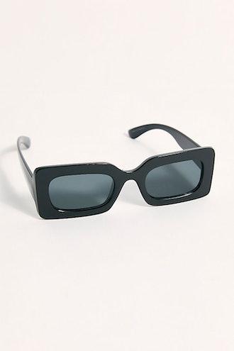 Temptation Rectangle Sunglasses