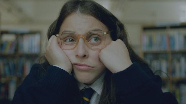 Beanie Feldstein as Johana Morrigan in 'How To Build A Girl'