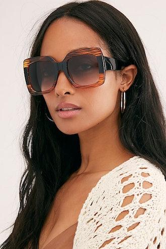 Sugar Oversized Square Sunglasses