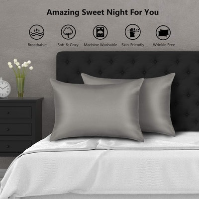 Zamat Silky Satin Pillowcases (2-Pack)