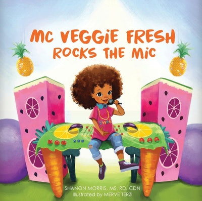 MC Veggie Fresh Rocks The Mic