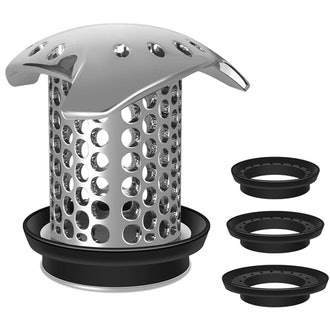 LEKEYE Stainless Steel Hair Trap for Shower Drain