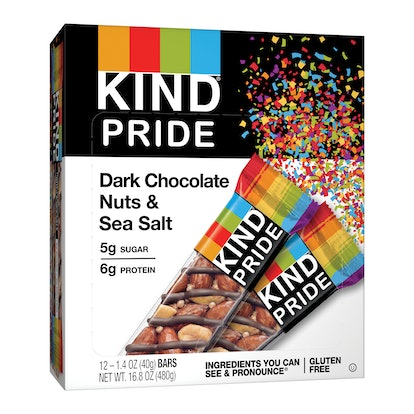 KIND PRIDE Dark Chocolate Nuts & Sea Salt
