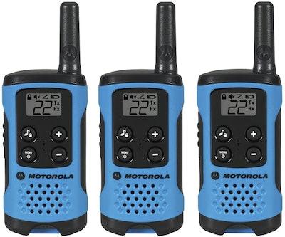 Motorola T100TP Talkabout Radio (3-Pack)