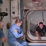 SpaceX Crew Dragon: watch the historic moment capsule docked with ISS