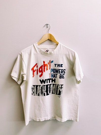 """Vintage """"Fight the Powers"""" Tee"""