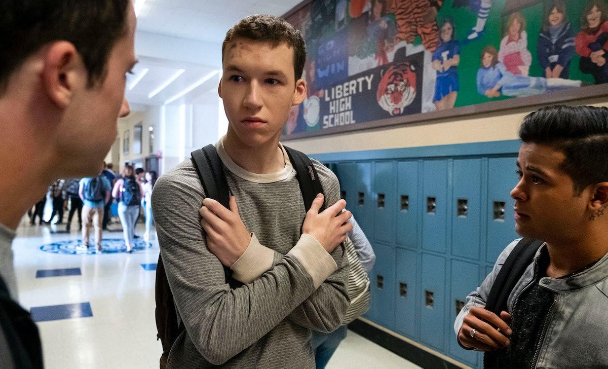Tyler Down had an uplifting arc in '13 Reasons Why' Season 3.