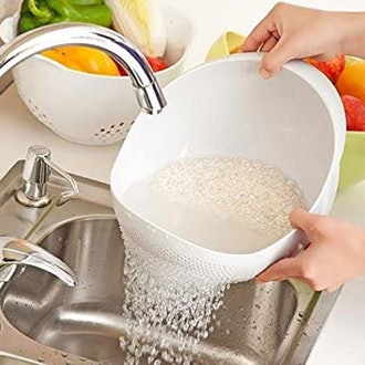 Japanese Design 4.2Qt Rice Washer Strainer