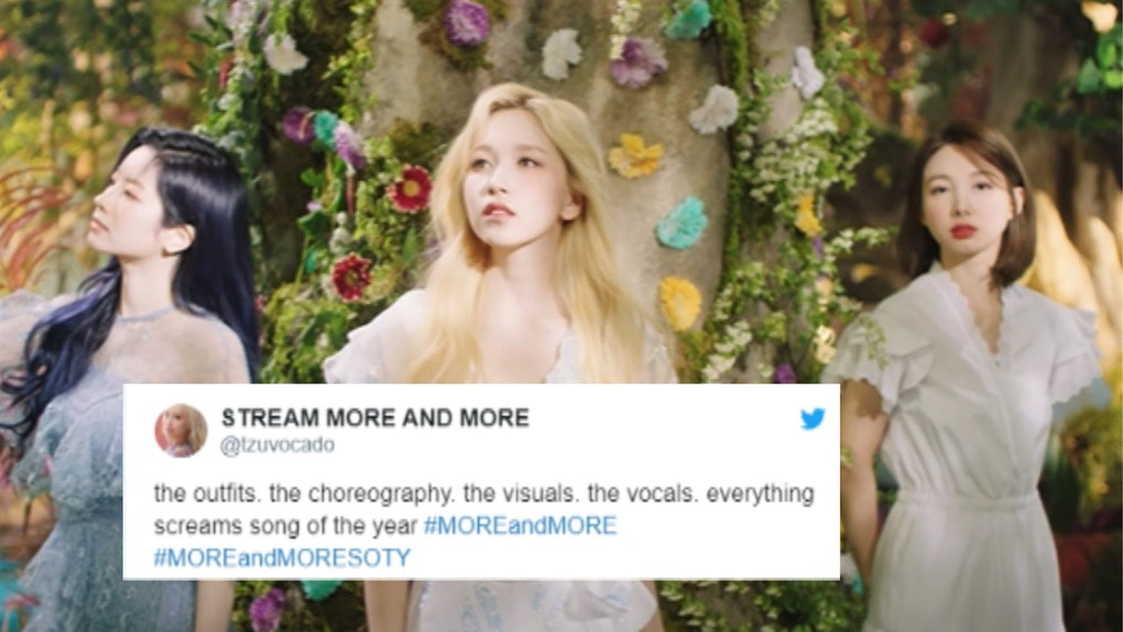 """20 Tweets About TWICE's """"More & More"""" Music Video That Show Fans Are Loving This Comeback."""