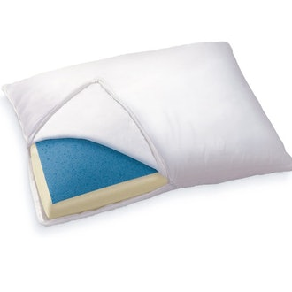 Sleep Innovations Reversible Cooling Gel Memory Foam & Memory Foam Pillow