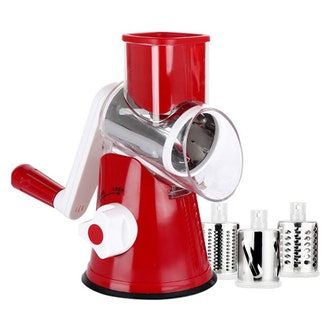 BR JUNKER Manual Round Mandoline Slicer and Cheese Grater
