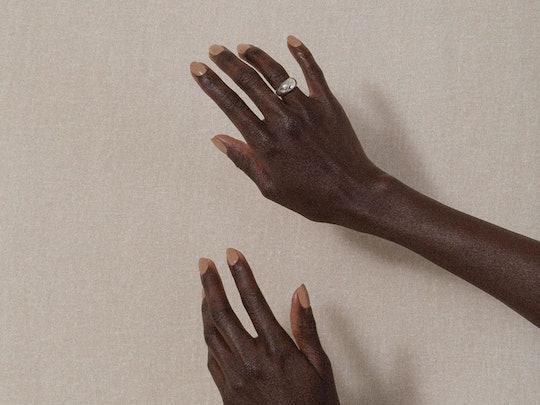 J. Hannah's nail polish in the color Dune