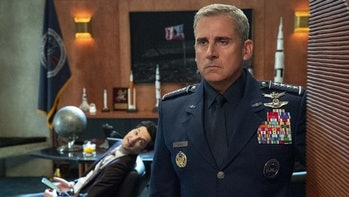 Steve Carrell in Space Force.
