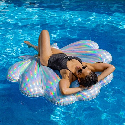 Holographic Deluxe Seashell Float