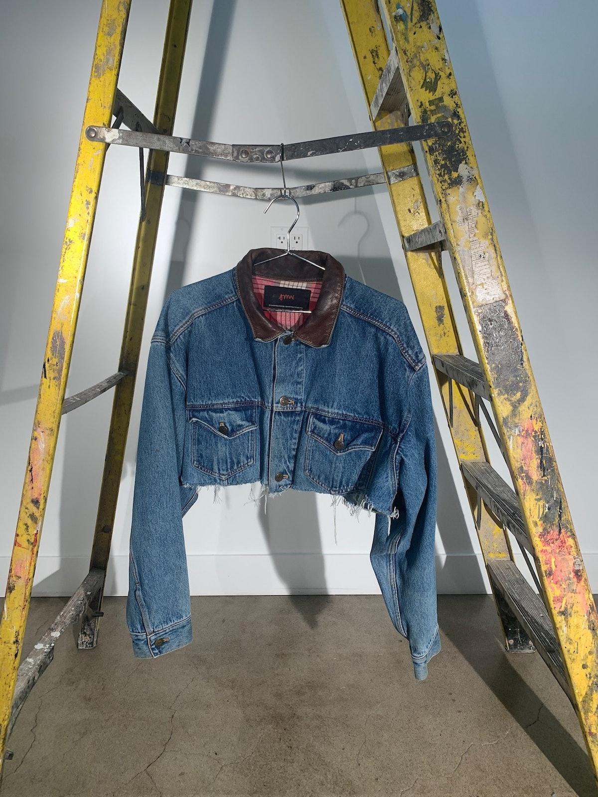 1/1 SMV Denim & Leather Jacket