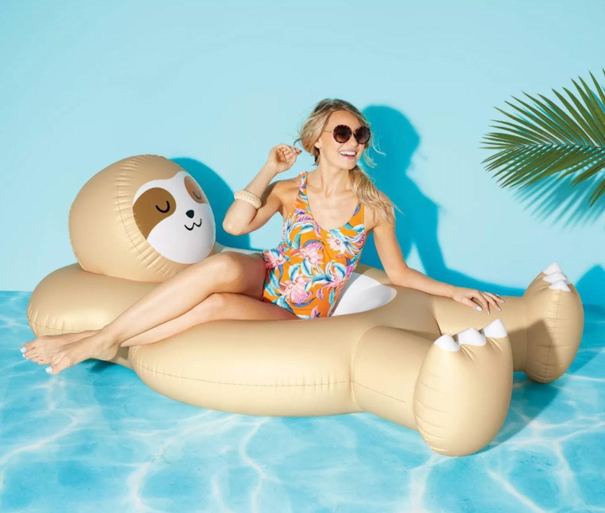 Sloth Pool Float - Sun Squad™