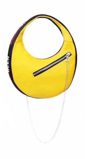 'Logo' Mini Egg Bag in Yellow