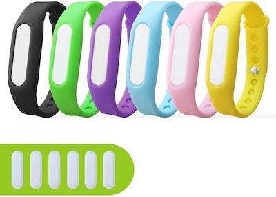 BuggyBands Mosquito Repellent Bracelets (6-Pack)