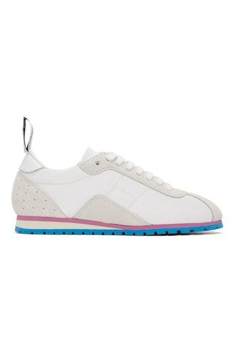 White Retro Sneakers