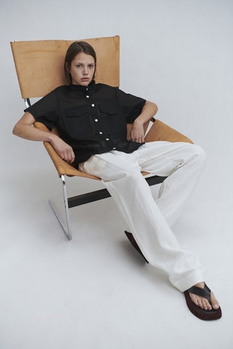 Ivory Pull-On Pant