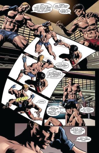 Shang-Chi Captain America