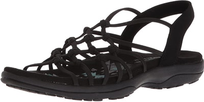 Skechers Reggae Slim-Forget Knotted Web Sandal