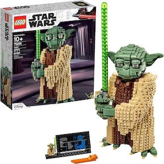 LEGO Yoda Building Model
