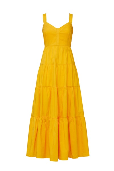 Rent The Runway X Color Me Courtney Yellow Cutie Maxi