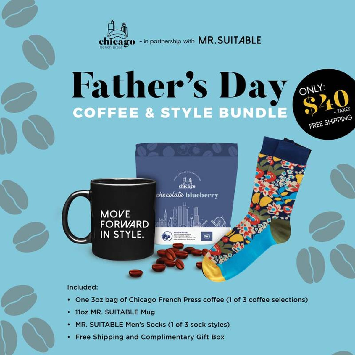 Father's Day Coffee & Style Bundle