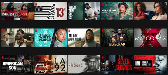 """Netflix now has a """"Black Lives Matter"""" genre for easier access to movies and shows."""