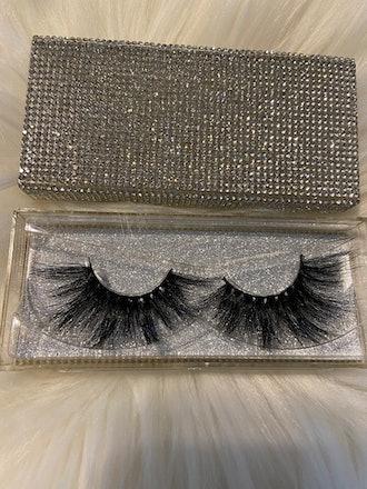 Bling Case 25mm Mink Eyelash Strips