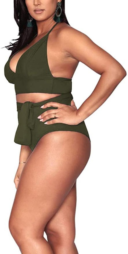Sovoyontee High Waisted Swimsuit