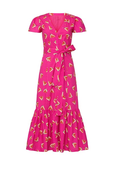 Rent The Runway X Color Me Courtney Melon Minnie Dress