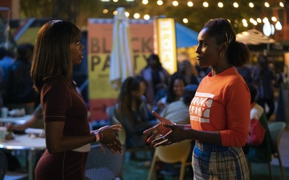 Yvonne Orji as Molly and Issa Rae as Issa in 'Insecure' Season 4 via WarnerMedia Group press site
