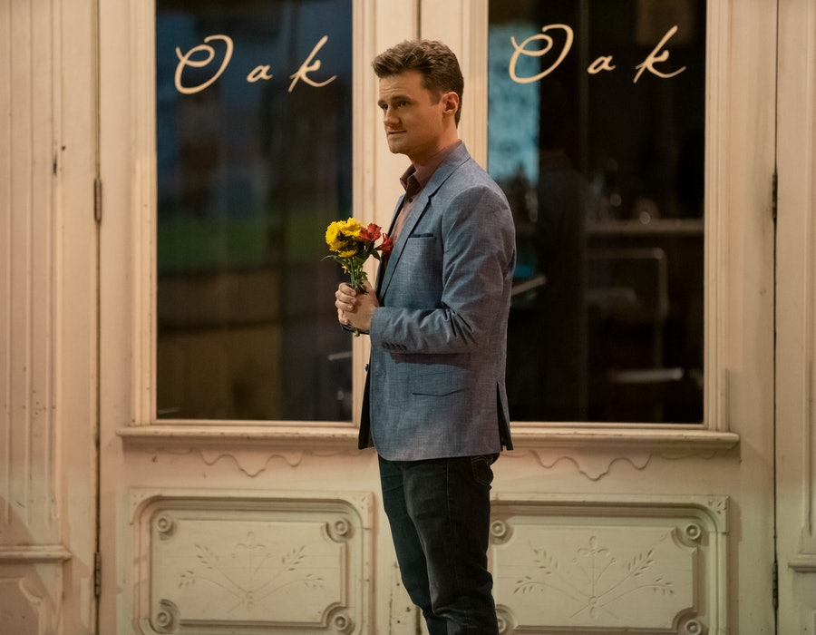 Ben from Dating Around Season 2 waits for one of his blind dates, via Netflix press site.