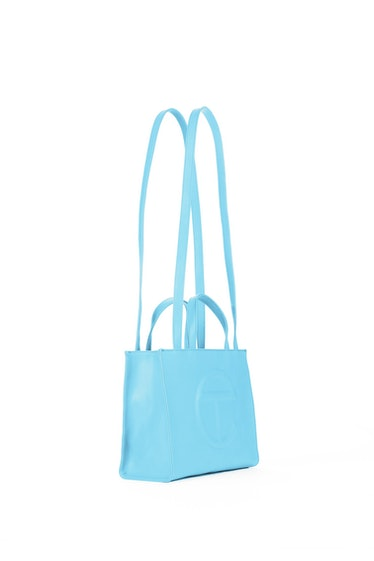 Telfar Medium Pool Blue Shopping Bag