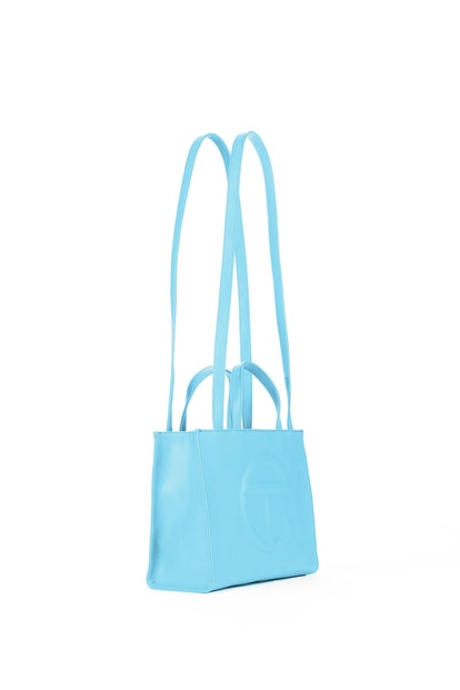 Telfar Medium Pool Blue Shopping Bag