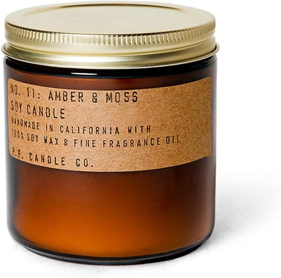P.F. Candle Co. Amber & Moss Candle (12.5 Ounces)