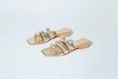 Zouxou Lagos Sandal in Platino