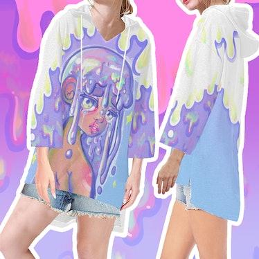 Ota-Q Apparel Rotten Girl Tunic Hoodie