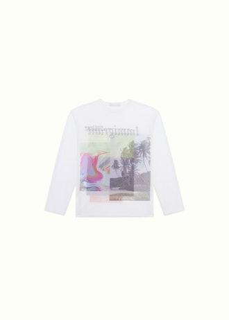 """LONG SLEEVE PRINTED T-SHIRT """"IMMIGRANT"""""""