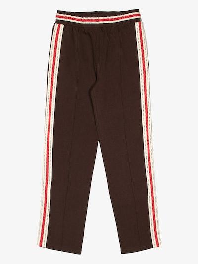 Palms Crochet Stripe Track Pants