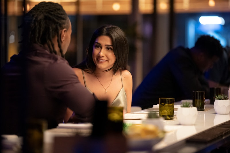 'Dating Around' Season 2 cast member Heather on one of her dates, via the Netflix press site.