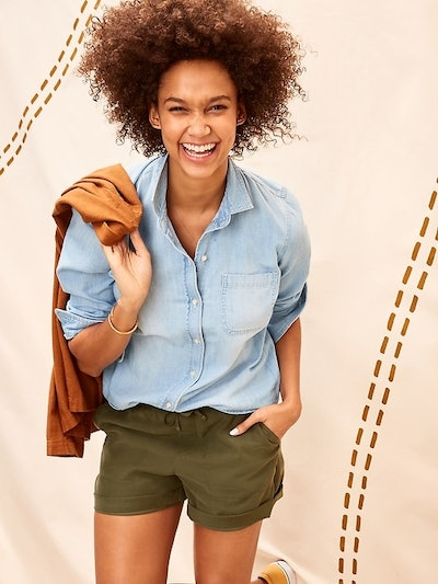 Old Navy Relaxed Chambray Classic Shirt